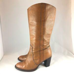 Michael Kors heeled boots size 6 1/2 M